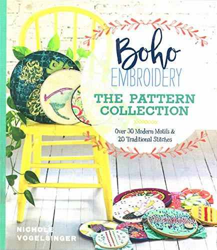 Boho Embroidery: The Pattern Collection por Nichole Vogelsinger