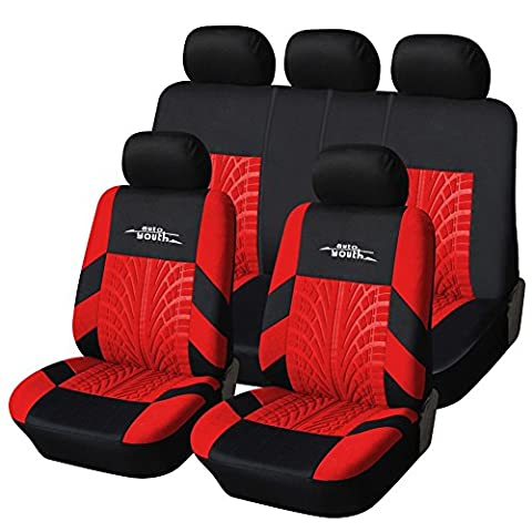 AUTOYOUTH Car Seat Covers Universal Fit Full Set Car Seat