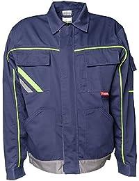 Planam Visline V2 chaqueta negro/ - Naranja