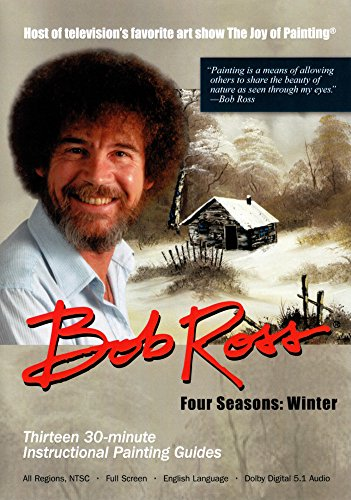Bob Ross The Joy of Painting: Winter Collection 3 DVD Set