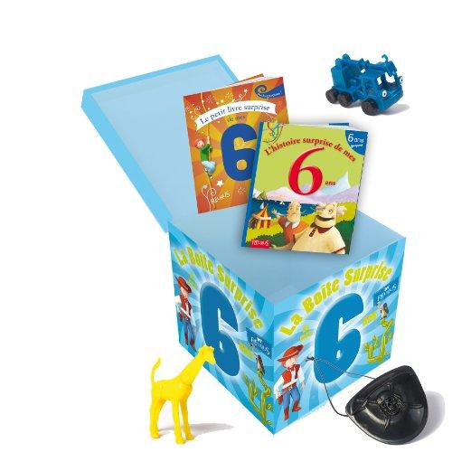 La boite surprise de mes 6 ans - garçons par Collectif