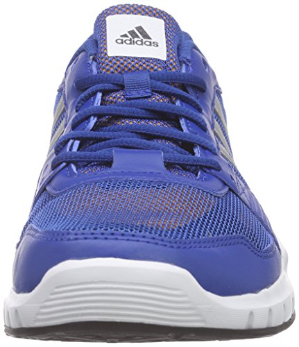 adidas Essential Star .2, Chaussures de Running Compétition Homme Multicolore (Eqtblu/Msilve/Eqtora)