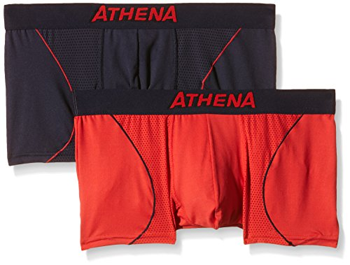 athena-free-motion-boxer-multicolore-lot-de-2-homme-multicolore-petrole-rouge-small-taille-fabricant