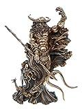 Aegir nordischer Meeressgott Egir Figur Skulptur Gott Meeresriese