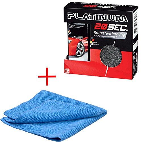 Preisvergleich Produktbild Platinum 20 Seconds + Mikrofasertuch / Professionelle Kratzerentferung in 20 sec