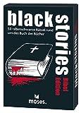 Moses. Black Stories - Bibel Edition | 50 rabenschwarze Rätsel | Das Krimi Kartenspiel