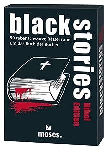 moisés. 108306 - Juego de Cartas - Historias Negras - Biblia Edición