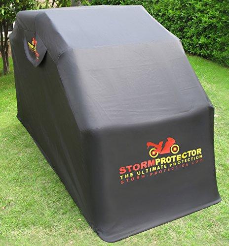 motorbike shed. Black Bedroom Furniture Sets. Home Design Ideas