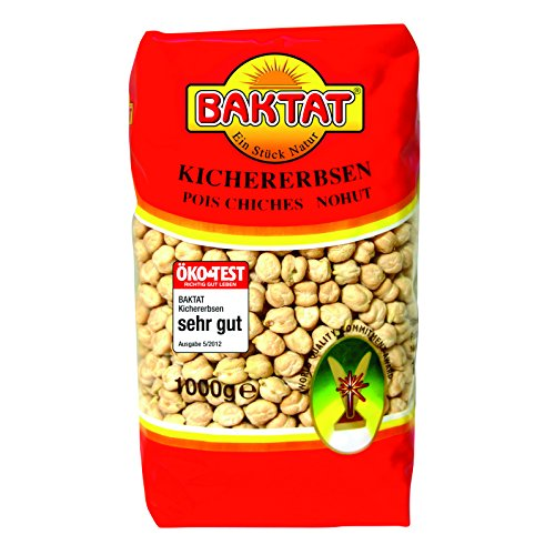 Image of Baktat Kichererbsen , 1er Pack (1 x 1 kg Packung)