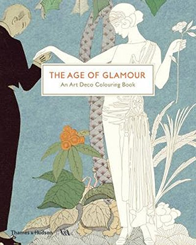 The Age of Glamour: An Art Deco Colouring Book (Victoria and Albert Museum)