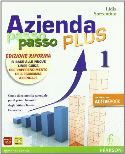 Azienda passo passo plus. Ediz. riforma. Con espansione online. Per gli Ist. professionali. Con DVD-ROM: 1