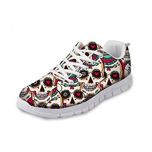 Flowerwalk - Zapatillas de Deporte para Mujer, cómodas, con...