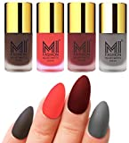 Best Nail Polish Neon Colors - Mi Fashion Velvet Dull Matte Nail Polish, Coffee Review