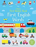 First Sticker Book English Words