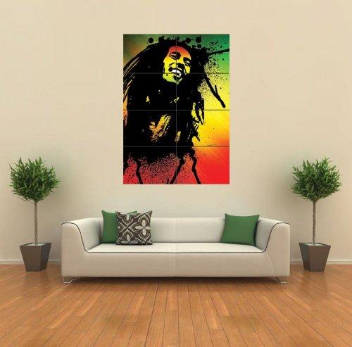 Bob Marley Giant Wall Art Print Poster