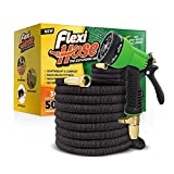 Best Coiled Garden Hoses - FlexiHose Upgraded Expandable 50 FT Garden Hose, Extra Review