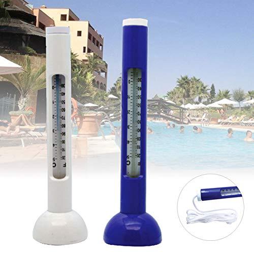 Catkoo Outdoor Indoor Floating Thermometer Temperaturanzeige Für Schwimmbäder Wannen Für Outdoor & Indoor Schwimmbäder, Spas, Hot Tubs, Aquarien & Fischteiche Weiß -