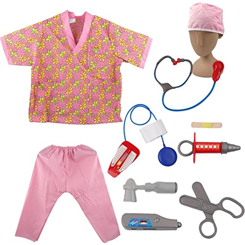 TopTie Krankenschwester Rolle Spielen Kostüme für Kind, Halloween Kostüme Ideen
