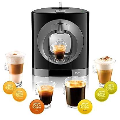 Krups-KP1108-Nescaf-Dolce-Gusto-Oblo-Kaffeemaschine-schwarz-Zertifiziert-und-Generalberholt