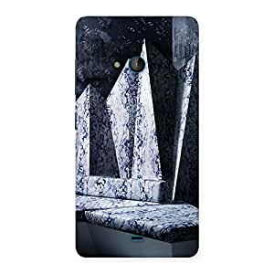 Cute Marbal Monument Back Case Cover for Lumia 540