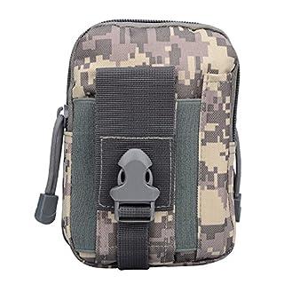 Asiv 1000d Waterproof Nylon Tactical Multi-Purpose Gadget Utility Pouch Bag, Men's, Grata del ACU