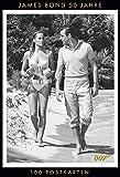 James Bond 50 Jahre - 100 Postkarten: 100 Postkarten aus dem James-Bond-Archiv