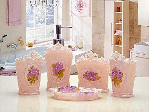 MIAORUI laver les toilettes bureau / résine haute décoration cinq cadeau vacances
