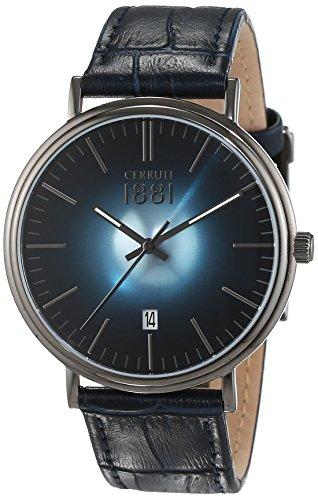 cerruti-1881-cra111su03bl-montre-homme-quartz-analogique-bracelet-cuir-bleu