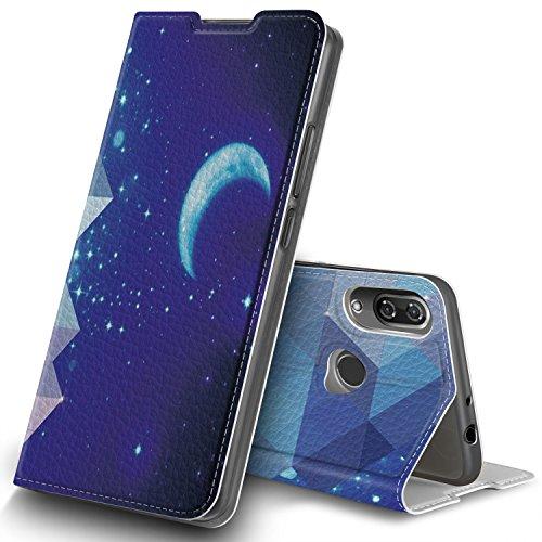 Wiko View 2 Hülle, GeeMai Premium Flip Case Tasche Cover Hüllen mit Magnetverschluss [Standfunktion] Schutzhülle Handyhülle für Wiko View 2 Smartphone, CH03