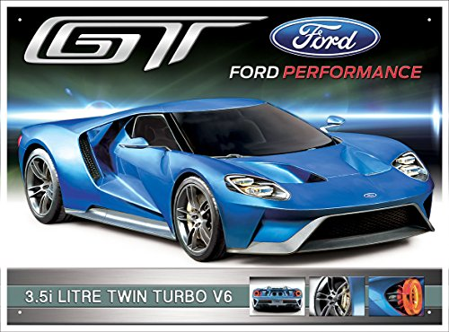 red-hot-lemon-300-x-410-mm-tinplate-metal-ford-gt-wall-sign-blue
