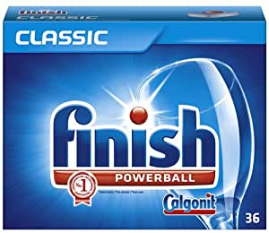 Calgonit Finish Classic Tabs, 3er Pack (3 x 36 + 4)