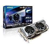 MSI N560GTX-Ti Twin Frozr II/OC Grafikkarte (PCI-e, 1024MB GDDR5 Speicher, Dual DVI-I, HDMI, 1 GPU)
