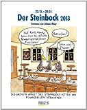 Steinbock 2013: Sternzeichen-Cartoonkalender
