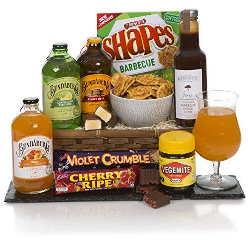 The Taste Of Australia - Australian Food Hamper - Non Alcoholic Aussie Gift Baskets
