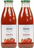 (2 Pack) - Biona - Organic Tomato Juice | 1000ml | 2 PACK BUNDLE