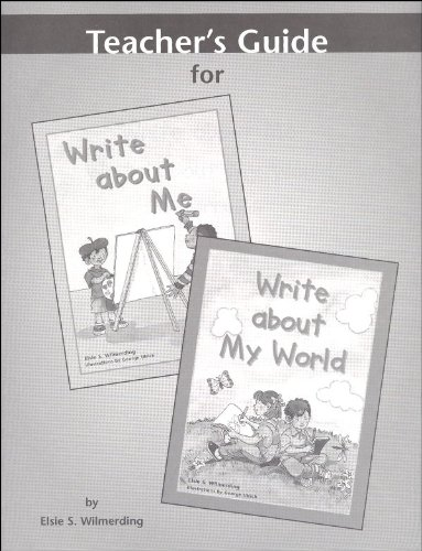 Write about Me & Write about My World Teacher Guide Grd 1 (Just Write Series) -