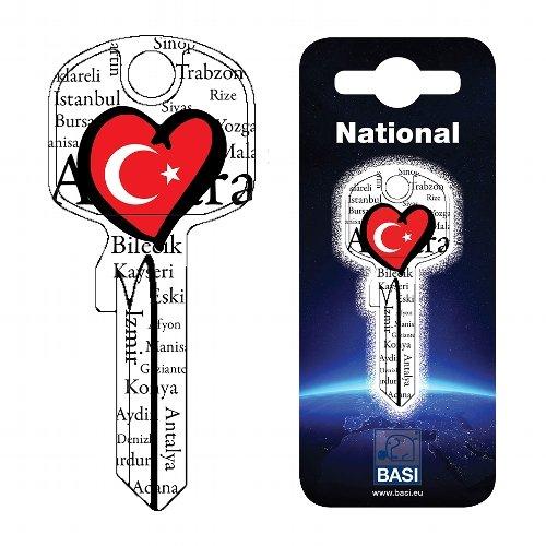 Fanschlüssel Schlüsselrohling Schlüsselanhänger Fanartikel Schlüsseldienst Türkei