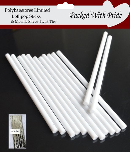 100-x-114mm-45-inch-white-plastic-cake-pop-lollipop-sticks-by-loypack-uk