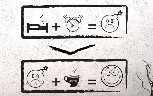 Melitta Schwarzer Tee (DD Dotzler Design - Wandtattoo Coffee Kaffee Smiley Rätsel - 40 x 33 cm - für Esszimmer Küche oder Wohnbereich 40 x 33 cm Farbe schwarz)