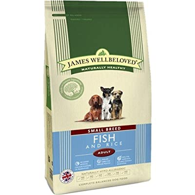 James Wellbeloved Small Breed Fish and Rice Adult Dry Dog Food