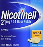 Nicotinell Nicotine 21 mg 24-Hour Patch, 21 Days Supply
