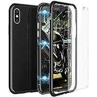 CE-Link iPhone X Hülle with iPhone X Panzerglas, Hardcase 2 in 1 Handyhülle 360 Grad Schutz Magnetisch Design... preisvergleich bei billige-tabletten.eu