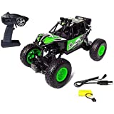 Tint Solutions® - Unbreakable Rechargeable Rock Car 4WD 2.4 Ghz 4x4 Rally Monster Car Remote Control Monster Truck, Rock…