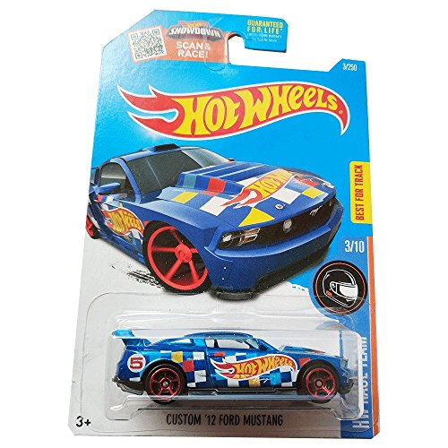 Hot Wheels Custom '12 Ford Mustang - HW Race Team - 3/250
