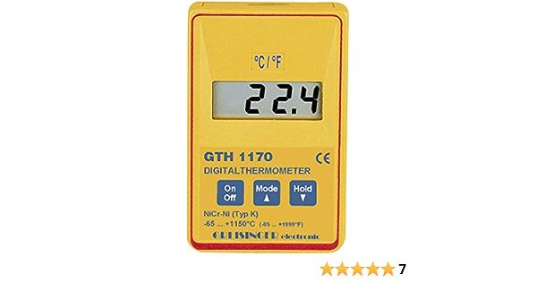 Greisinger Gth 1170 Temperature Meter Thermometer Baumarkt