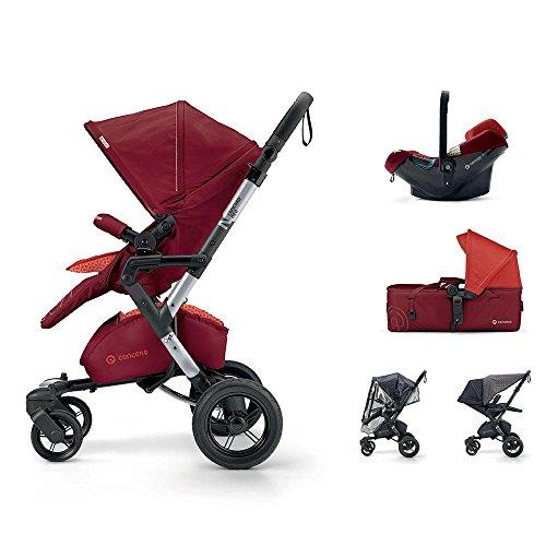 Concord-Trio poussette Neo Mobility Set Rouge