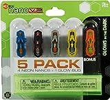 #4: Hexbug Neon Nano V2 + 1 Glow In The Dark Bugs (5 Pack)