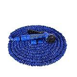 Aufun Gartenschlauch Flexibler 45m 150FT Dehnbarer Flexischlauch Flexi Wasserschlauch Flexibel Multisfunktionsbrause mit 7...