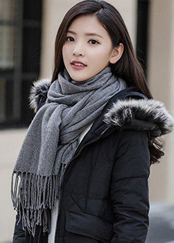 Echarpe Femme Châle surdimensionné en hiver à usage unique ( couleur : 7# ) # 2