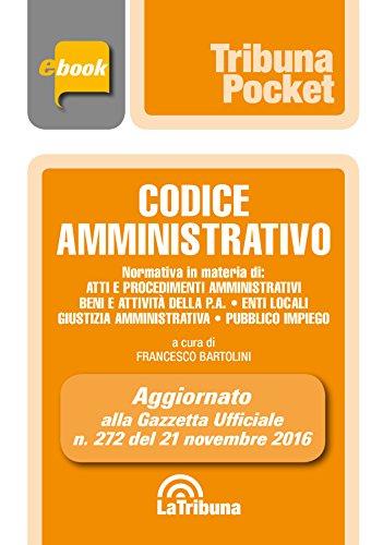 Codice amministrativo: Edizione 2017 Collana Pocket